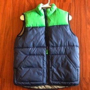NWOT Old Navy boys puffer vest